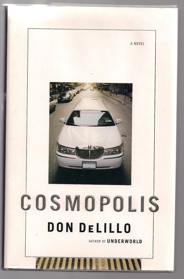 Cosmopolis by Don DeLillo | 16 Little Books To Read On Long Journeys