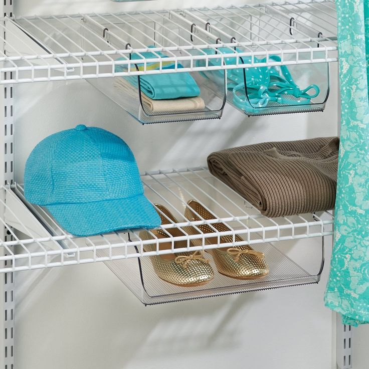 9 best Organizing-accessories for closet maid shelving images on ...