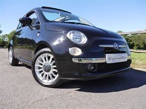 used Fiat 500 C LOUNGE in surrey