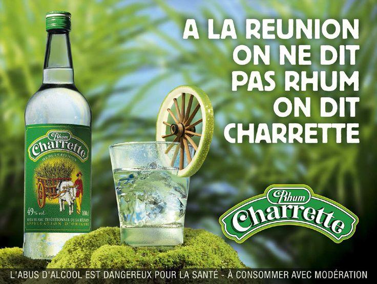 [Ile de la Réunion] - Rhum Charrette - Publicité http://www.rhum-charrette.com/