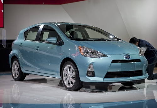 I want, want, want, want, this car! 2013 Prius C in Sarah blue.