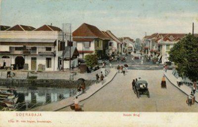 Soerabaja Roode Brug (Jembatan merah 1895 - 1908