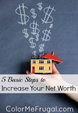 Learn how to calculate your net worth, and most importantly, how to INCREASE it, using these 5 steps! The good news: you may already doing some of these things! But are you doing all that you could be? Find out!