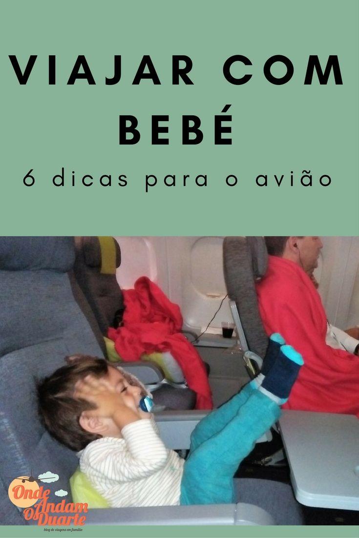 Viajar com um bebé não é fácil. Aqui fica alguma informação que pode ajudar quem vai viajar sozinho com um bebé ou uma criança pequena.
