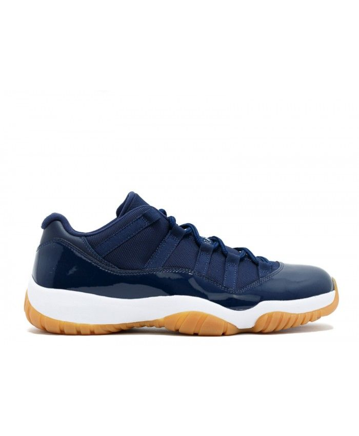 ce69d213ceed Air Jordan 11 Retro Low Navy Gum Midnight Navy Wht Gm Lght Brwn 528895-405