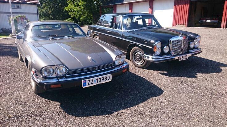 Jaguar og Benz