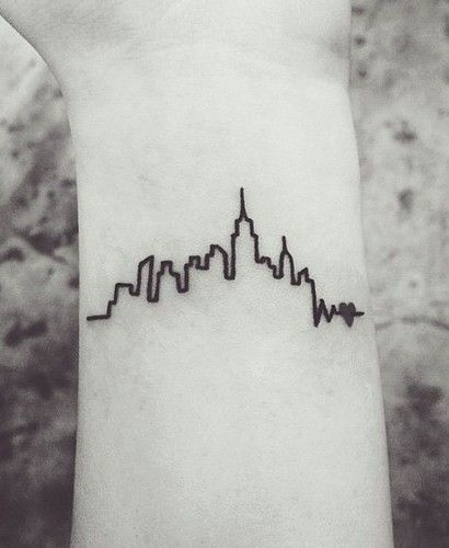Love City Minimal Tat