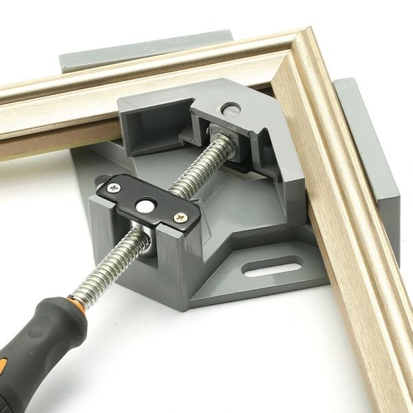 90 Degrees Corner Clamp Right Angle Woodworking Vice Wood Metal