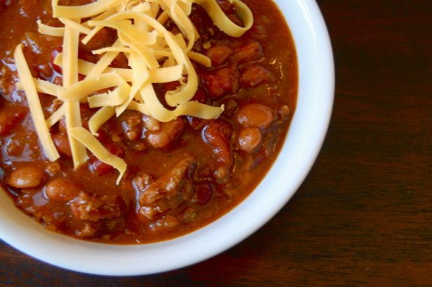 This is a version of the famous Wendys chili and it tastes just like it! This recipe is from Todd Wilburs book Top Secret Recipes. www.TopSecretRecipes.com
