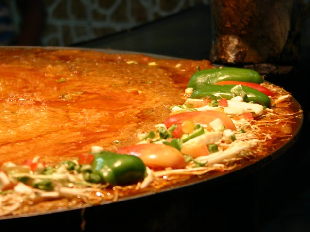 the delicious street food in Chandni Chowk, Delhi!