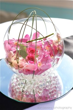 40 Best Fish Bowl Centerpieces Images By Whimzey Events