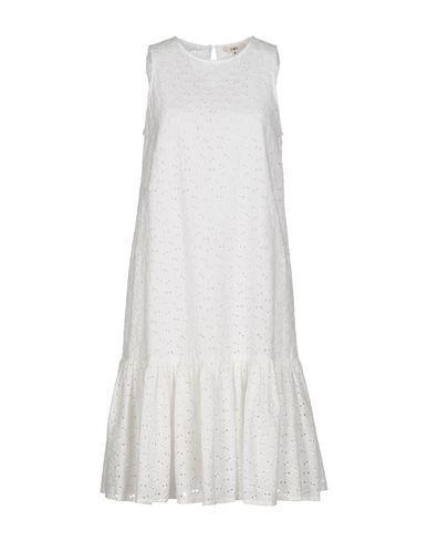 YMC YOU MUST CREATE Knee-Length Dress. #ymcyoumustcreate #cloth #dress #top #skirt #pant #coat #jacket #jecket #beachwear #