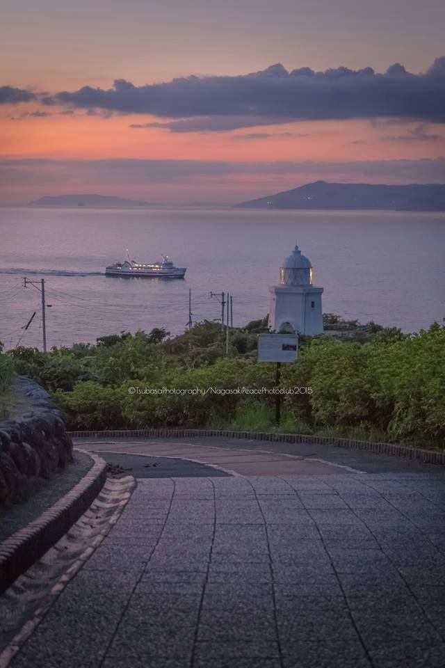 Nagasaki, Japan | Tsubasa Yamauchi「夕暮れの瞬間」長崎 伊王島灯台