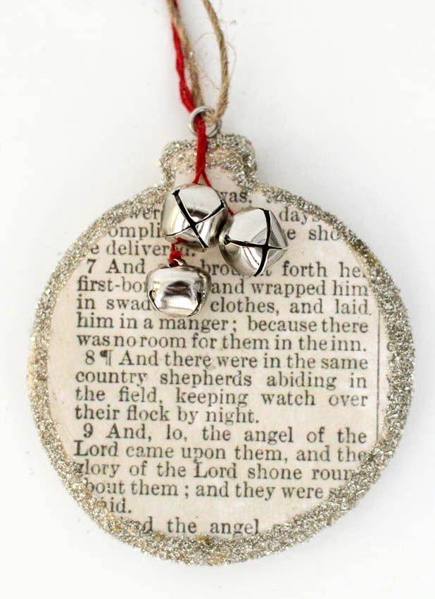 Birth of Christ - Christmas Ornament