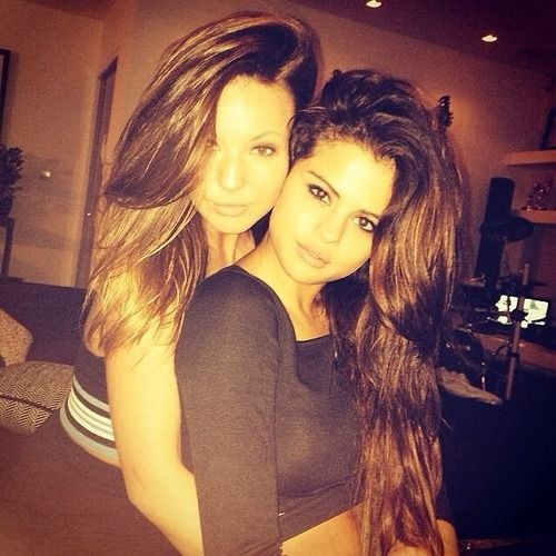 Selena Gomez and her sister