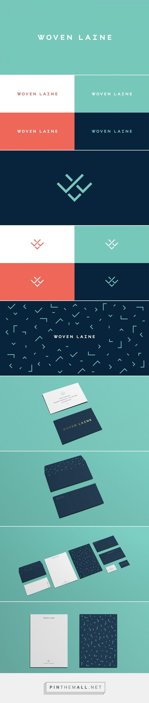 Woven Laine Branding by Mast | Fivestar Branding – Design and Branding Agency & Inspiration Gallery