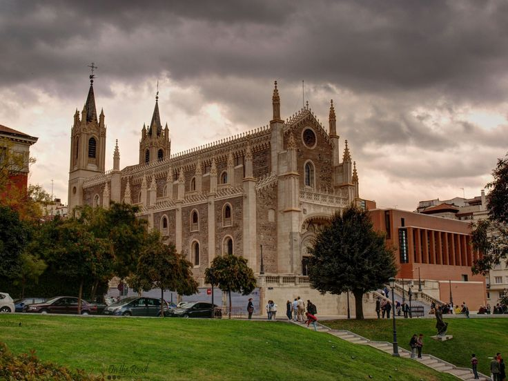 The beautiful San Jerónimo el Real Church, just a stone's throw away from El Prado Museum, in Madrid.