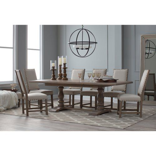 Belham Living Kennedy Trestle Extension Dining Table - Dining Tables at Hayneedle