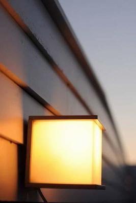 Cube väggbelysning, aluminium med akryl kupa. Antracitgrå, mörkgrå.
