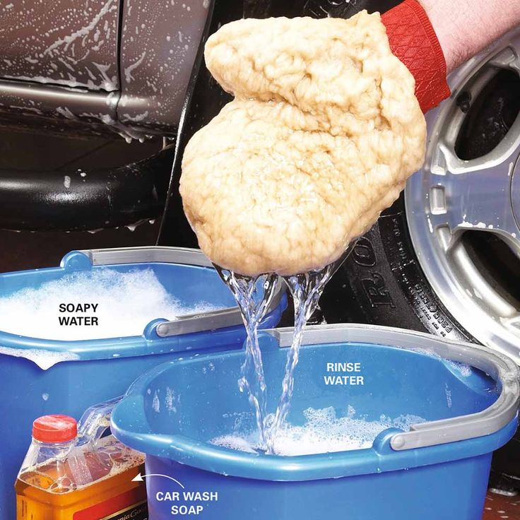 Wash With the Right Suds - 13 Best Car Cleaning Tips and Tricks: http://www.familyhandyman.com/automotive/car-maintenance/best-car-cleaning-tips-and-tricks
