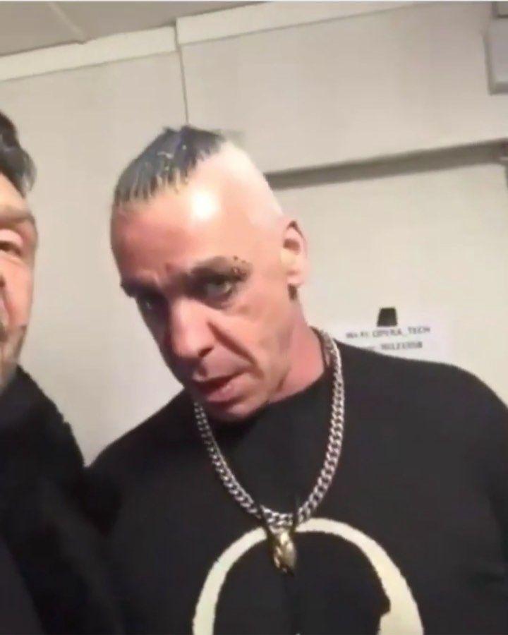 Rammstein On Instagram Funny Till Tilllindemann Richardzkr Till Lindemann Rammstein Instagram