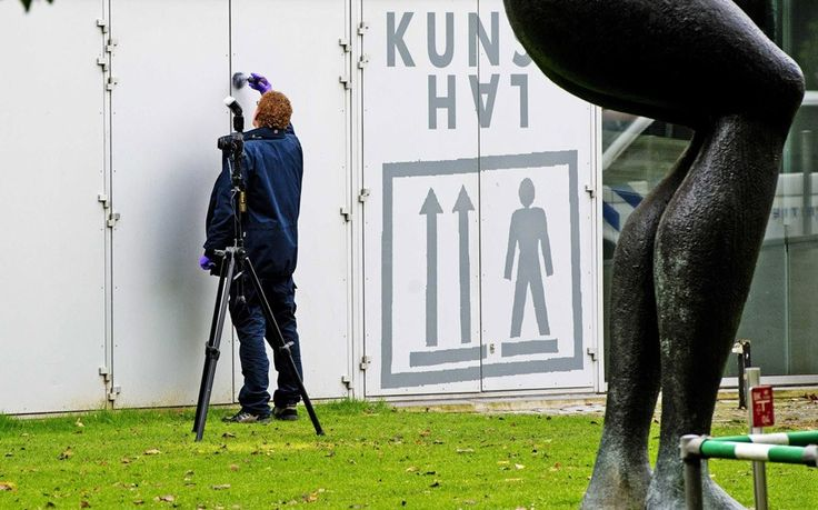 Rotterdam's Kunsthal art gallery: Thieves made off with paintings by Pablo Picasso, Henri Matisse, Claude Monet and other famous modern artists from a museum in Rotterdam