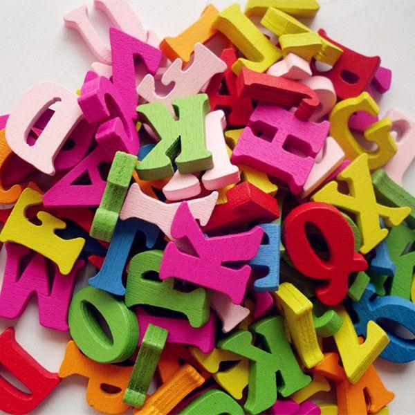 Cheap 100 pz 15mm misto lettera alfabeto non poroso di legno scrapbooking carft per la decorazione fai da te, Compro Qualità Artigianato del legno direttamente da fornitori della Cina:   Materiale  Legno  Formato  Approssimativamente: 16mm   Conversione: 1 pollice = 25.4mm o 1mm = 0.0393 pollice  C