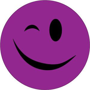 Purple Smiley-Face | Vehicle Parts & Accessories > Car Tuning & Styling > Exterior Styling ...