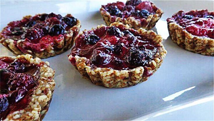 Vegan Berry Tarts