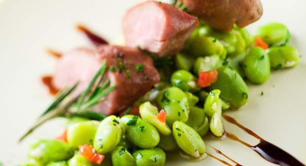 Filet mignon aux fèves des maraisVoir la recette du Filet mignon aux fèves des marais >>