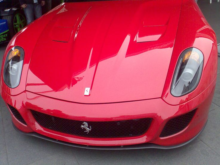 Red Ferrari Face - Pit Stop - Verva Street Racing - Warsaw 2011
