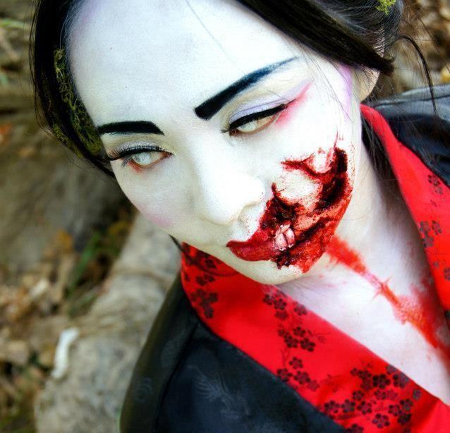 8 best Halloween costume ideas images on Pinterest | Geisha makeup ...