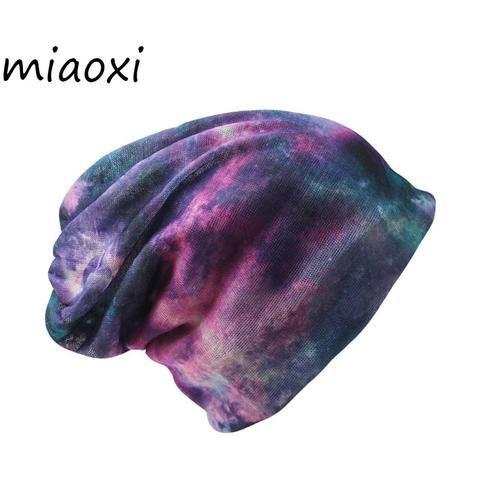 44351368006 miaoxi New Casual Women Hat Ladies Knitted Spring Autumn Cap Scarf Women s  Skullies Gorro Fashion Beanies Sale