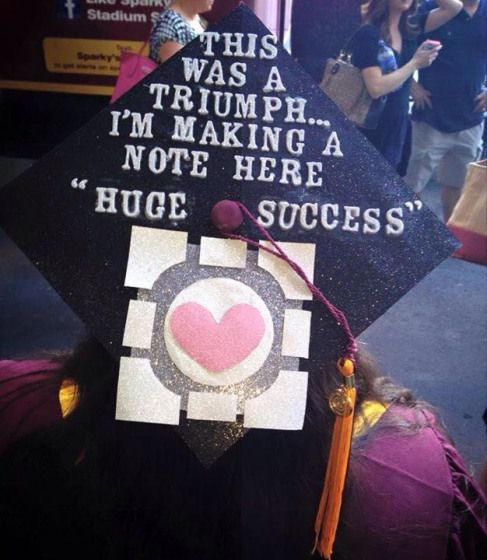 Decorated my cap for college graduation #arteducation #art #education #graduation #cap