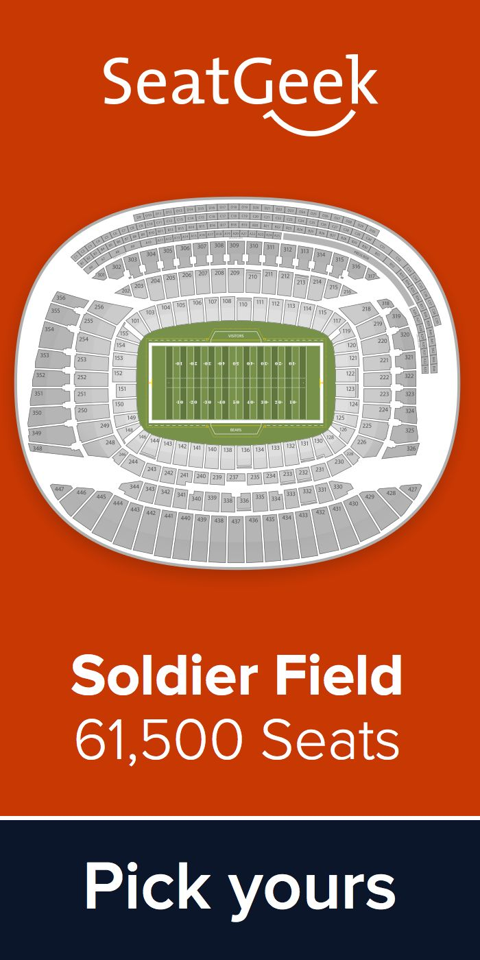 The best deals for Bears tickets are on SeatGeek!