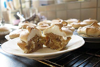 Rhabarber - Muffins mit Baiser 1