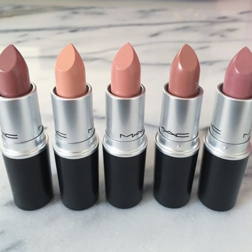 If I was only able to pick five lip sticks to have, these are the ones, because…
