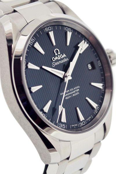OMEGA Seamaster Aqua Terra Master Co-Axial Watch - Blue Dial  £2,950.00 - in stock