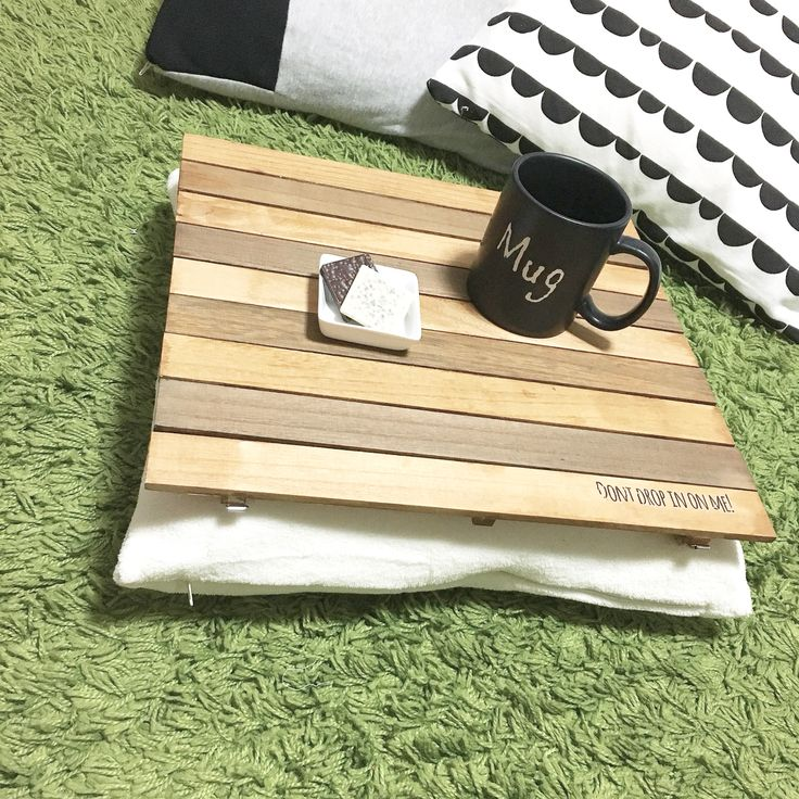 100均DIY クッションテーブルの作り方 : ノープラン生活 100均リメイクにセルフリノベDIYを気の向くままに