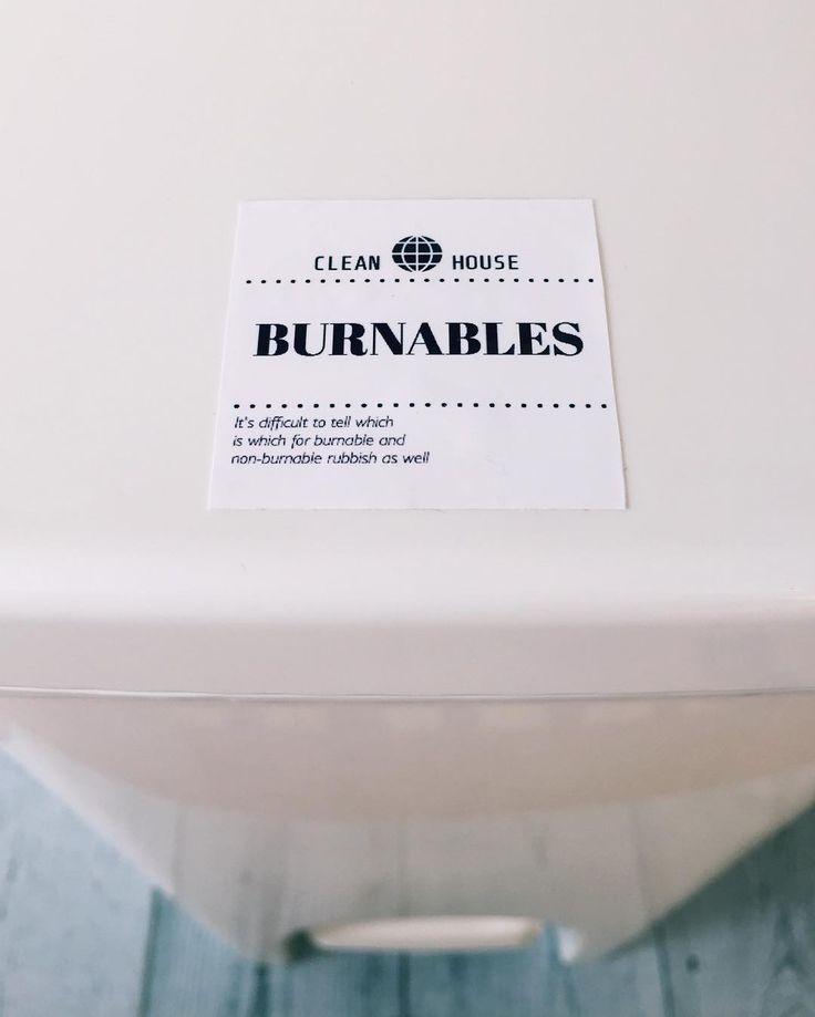燃えるゴミのステッカーをゴミ箱にペタっ🗑    #label#labelsticker  #ラベル#ラベルステッカー  #シール#ラベルシール  #ステッカー#white  #ゴミ#ゴミ箱#ゴミ分別  #ダストbox#燃えるゴミ  #インテリア#暮らし#オシャレ  #掃除#整理整頓#シンプル  #mm#mmlabel