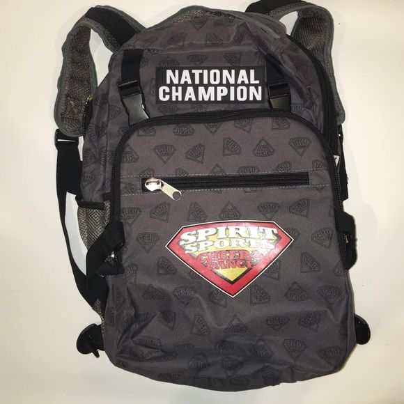 National champion cheer backpack Super cute nation champion cheer backpack. Never used. Please ask if you have any questions. Nfinity Bags Backpacks