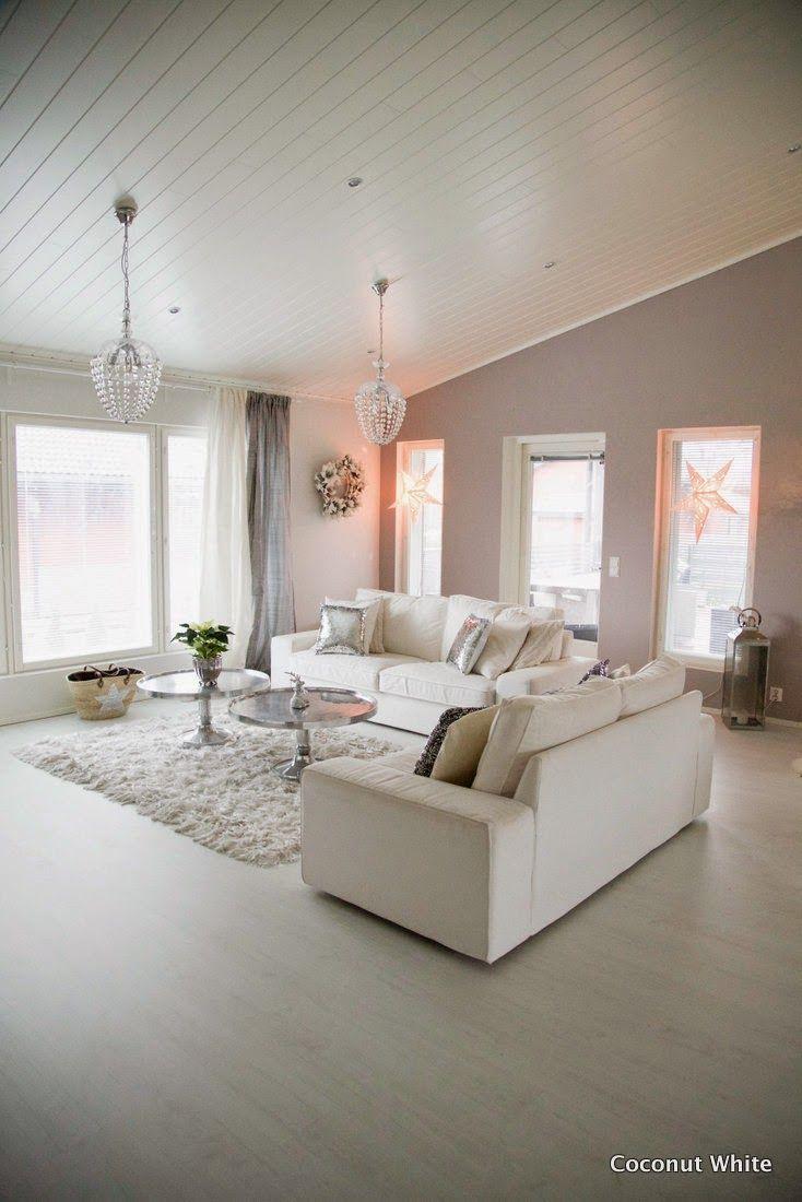 Coconut White - Christmas Livingroom