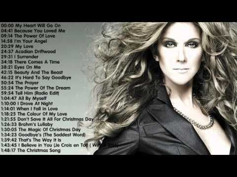 Celine Dion - The Best songs of Celine Dion || Celine Dion's Greatest Hits 2014
