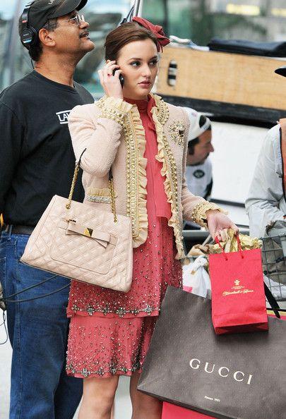 The always fashionable Blair Waldorf