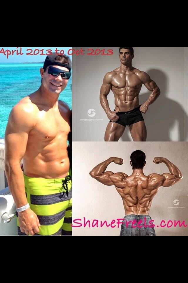 What results!  Shane is a personal trainer using Isagenix!