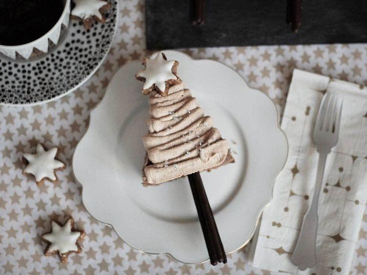 Tutoriel DIY: Faire un #gâteau au #chocolat #sapin de Noël via DaWanda.com #recette #noel #xmas
