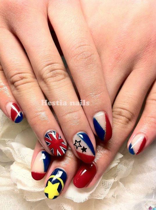 kokoro nails: Hearts step 2   Cool Nails   Pinterest   Nail heart ...
