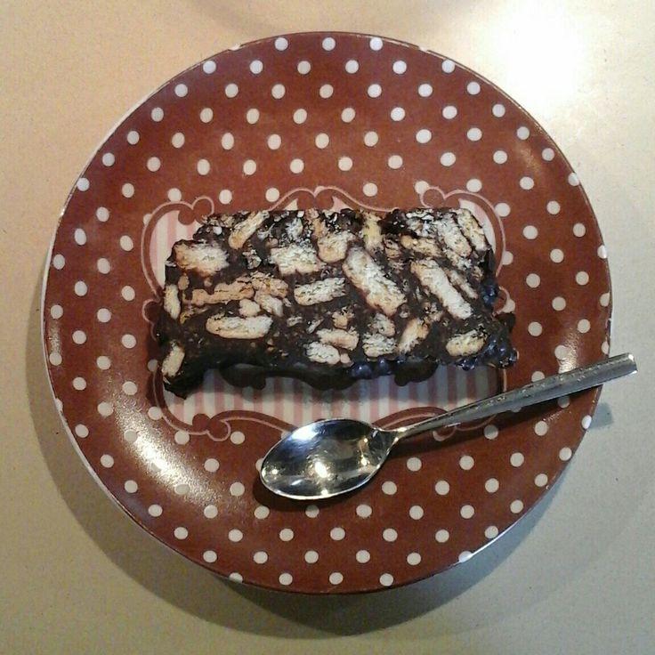 Μωσαϊκό με τη συνταγή της Αργυρώς Μπαρμπαρήγου.