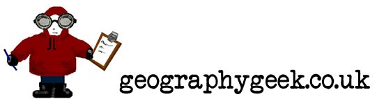 www.geographygeek.co.uk is a personal, non-profit making website for Geography teaching resources. Feel free to use anything you see, but please contact me before posting things on other websites.