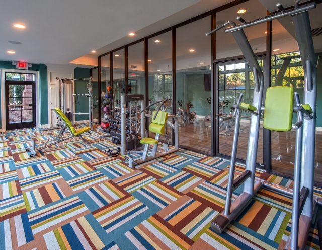 Lovely Carpet Tiles for Home Gym